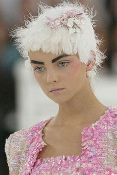 Chanel couture S/S 2005... Is there a reason why this is no longer on style.com?