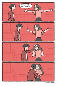 ideas for funny cute couples pictures kids Cute Couple Comics, Cute Couple Cartoon, Couples Comics, Comics Love, Cute Love Cartoons, Cute Couple Art, Anime Love Couple, Cute Couple Pictures, Cute Comics