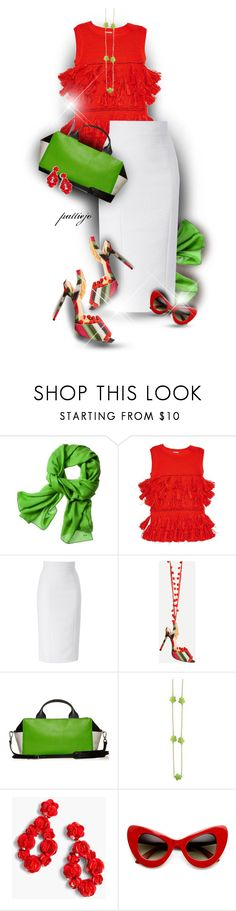 """""""Go Bold"""" by rockreborn ❤ liked on Polyvore featuring Reed Krakoff, Dries Van Noten, L'Wren Scott and J.Crew"""