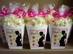 Funny baby shower foods for guest...Ready to POP~