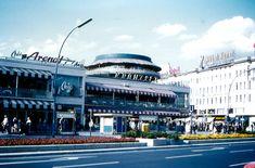 1963 Café Kranzler am Ku-Damm Berlin Cafe, West Berlin, East Germany, Berlin Germany, Bright Rooms, World War Ii, Beautiful Places, The Originals, City