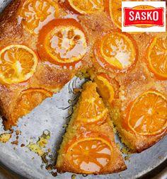 Upside Down Naartjie Cake - Expresso Baking Challenge