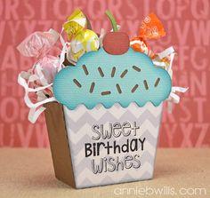 Birthday Cupcake Treat Box