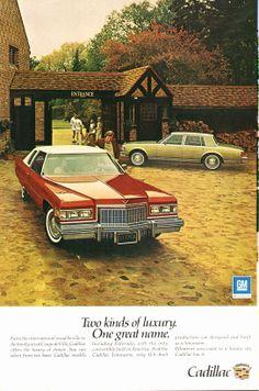 1976 Cadillac Sedan de Ville and Eldorado