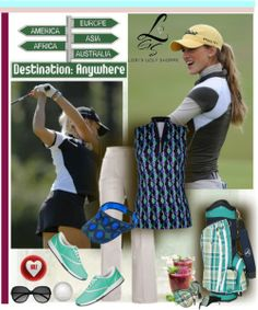 A classic golf look only at lorisgolfshoppe.polyvore.com #golf #polyvore #lorisgolfshoppe