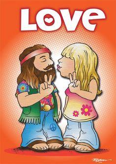 Kissing Hippies