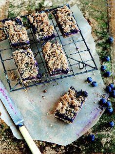 Blueberry Breakfast Bars   Tastebook Blog