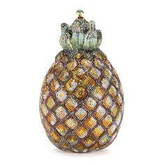 Judith Leiber pineapple minaudière