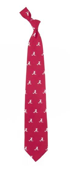Alabama Prep Silk Necktie
