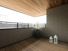 インナーバルコニー デッキ イメージ Decks And Porches, Rooftop, Balcony, Lounge, House Design, Patio, Interior Design, Architecture, Waiting