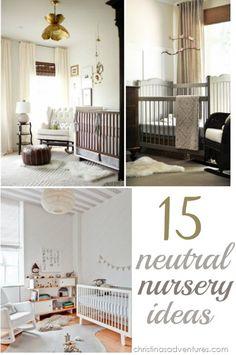 15 Neutral Nursery Ideas #babybehip #alwaysleavethemsmiling