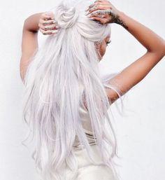 White hair, don't care!