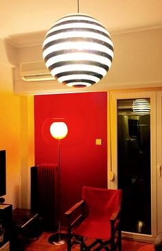 Our Products in Customers' Homes, here is Urban horizontal fiberglass ball  #fiberglass #lighting #interior_lighting #design #lights #colours #balls #hanging_lamps #bars #our_work #GshopAthens #light #lighting #architecture #lamp #interiordesign #interiorliving #interiorlighting #architectureanddesign #ball_lamp FIND OUT MORE - SHOP NOW : ✖️ www.GshopAthens.gr ✖️ Interior Lighting, Lighting Design, Floor Desk, Hanging Lamps, Desk Lamp, Balls, Homes, Colours