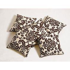 Swayam Cushion Cover Printed Set of Five - FabFurnish.com #DiwaliDecor #FabFurnish