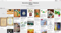 Pack your suitcases for adventure as we travel to the prehistoric era, Ancient Egypt, and medieval times with Geronimo Stilton. Tons of activities, links to freebies, Pinterest boards, and more!