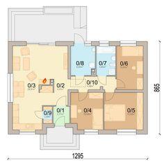 DOM.PL™ - Projekt domu ARN Mokka 3 CE - DOM RS1-79 - gotowy projekt domu