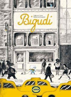 Bigudí tiene el pelo blanco y anteojos de estrella de cine. Vive en una ciudad inmensa, en el piso 156 de un edificio altísimo, y comparte sus ajetreados días con Alfonso, un viejo buldog francés.