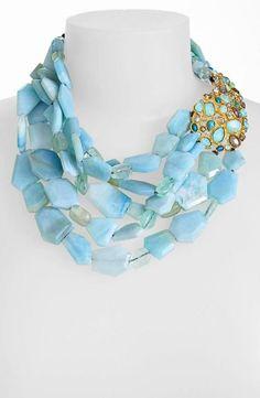 Alexis Bittar Elements Pacific Blue