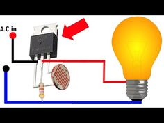 about this video. this video I will show how to make bulb automatic on of using ldr, very easy using triac ic used and ldr simple and easy s. Electronics Mini Projects, Hobby Electronics, Electronic Circuit Projects, Electrical Projects, Electronics Components, Electronic Engineering, Arduino Projects, Electronics Gadgets, Led Projects