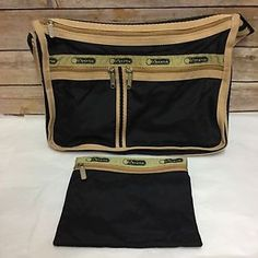6973ebb5d419 Le Sportsac messenger purse and cosmetic bag