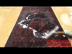 Correcting Dye Bleed in a Rug in Palm Beach  Call Us Today: 561-246-3840  Pet Stain Removal Odor Removal Textile Restoration Rug Weaving Water Extraction Water Removal Rug Repair Rug Restoration Restoration Oriental Rugs