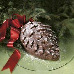 Käpykakku kermatäytteellä (gluteeniton) Sweet Pastries, Healthy Soup, Christmas Baking, Cooking Tips, Sweet Tooth, Bakery, Gluten Free, Cookies, Chocolate