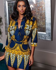 Pictures Of New Lovely Ankara Styles African Wear Dresses, African Inspired Fashion, Latest African Fashion Dresses, African Print Fashion, African Attire, African Dashiki Dress, Kente Dress, Ankara Skirt, Fashion Mode