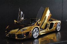 $7.3 Million Gold Lamborghini Aventador