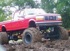 ford mud trucks