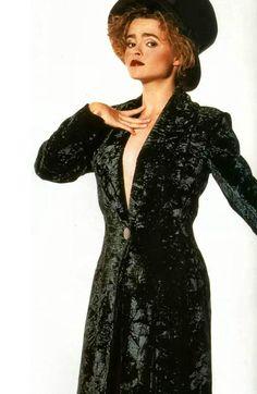 Helena Bonham Carter photographed by Trevor Leighton, 1993.