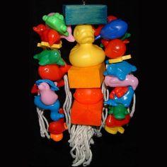 Junior FunPlastic Amazon Parrot Toy