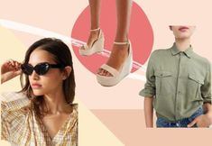 We put together our favorite spring looks everybody should rock, and if a statement pink suit seems too much, then try to get out of your comfort zone! All White Sneakers, Cute Sneakers, Best Sneakers, Preppy Outfits, Travel Outfits, Spring 2018 Fashion Trends, Best Fake Eyelashes, Neutral Wedges, Affordable Plus Size Clothing