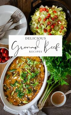 Looking for delicious breakfast, lunch, or dinner ideas that the whole family will love? These are my favorite Ground Beef recipes that I turn to when I need something quick, easy, and protein rich! Mushroom Sauce For Burgers, Great Recipes, Dinner Recipes, Dinner Ideas, Party Recipes, Meatloaf Recipes, Ground Beef Recipes, Kitchen Recipes, Easy Cooking