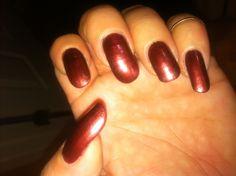 630 Haute Chocolate Sally Hanson complete salon manicure