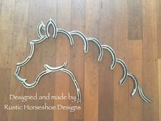 Rustic Horseshoe Designs - Home Welding Art Projects, Diy Welding, Blacksmith Projects, Metal Projects, Horseshoe Projects, Horseshoe Crafts, Horseshoe Art, Horse Head, Horse Art