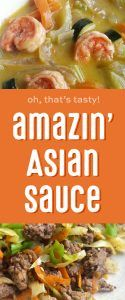 Amazin' Asian sauce - versatile sauce for stir-fry, broth bowls, and crack slaw