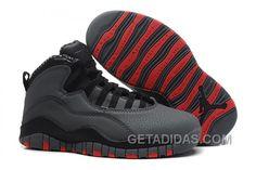 24439b4e410c7f Air Jordans 10 Retro Cool Grey Infrared-Black For Sale Online JthJjwp