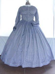 #22-007 navy blue gingham taffeta day dress