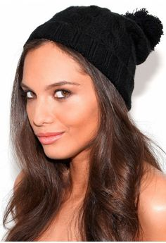 Mitras Beanie Bobble Hat -- or with a bobble? Leather Skater Skirts, Bobble Hats, Fashion Beauty, Womens Fashion, Winter Wardrobe, Missguided, Dress To Impress, Women's Accessories, Winter Hats