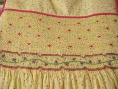 Here's my adventures in the world of smocking and hand embroidery.
