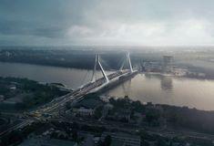 Így fog kinézni Budapest új hídja | Magyar Építők