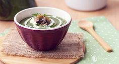 Vegan recipes – Spinach cream with mushrooms – Vegolosi.it - Chef HELEN LOG Best Dinner Recipes, Family Meals, Buffet, Chicken Recipes, Vegan Recipes, Stuffed Mushrooms, Easy Meals, Appetizers, Food And Drink