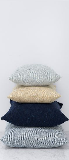 [ad] In love with these tweed pillows from The Citizenry's Ireland Collection…