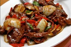 This version of recipe combines tender undercut beef, onion and capsicum. A perfect dish to please your family and guests. Photo By...
