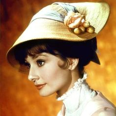 Audrey Hepburn - looked fantastic in any hat