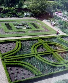 Gardens at Doddington Hall Lincolnshire