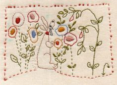 French Rabbit in Jardin design by Barb Smith www.theodoracleave.com
