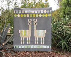 Lloyd & Lola Quilt & Pillow Pattern by Elizabeth Hartman