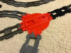 Train Turntable For Use with Lego Duplo System by ericdb - Thingiverse Minecraft S, Cool Minecraft Houses, Hama Beads Minecraft, Minecraft Buildings, Perler Beads, Lego Duplo Train, Lego Duplo Sets, Lego Lego, Diy 3d Drucker
