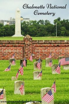 In honor of Memorial Day, don't miss this post on visiting the Chalmette National Cemetery. #crescentcitydarling